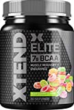 Scivation XTEND Elite BCAA Powder Sour Gummy | Sugar Free Post Workout Muscle Recovery Drink with Amino Acids | 7g BCAAs for Men & Women| 30 Servings, 1.19 lb, 19.04 oz