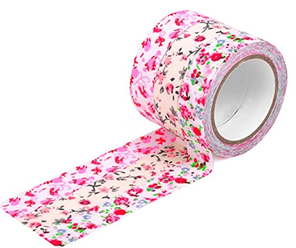 HIART HF2011 Craft Decorative Fabric Tape, 15mm, Set of 3