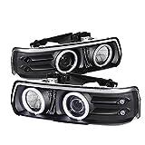 Spyder Auto 5009579 CCFL Halo Projector Headlights Black/Clear