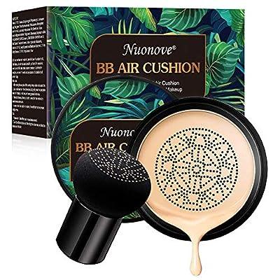 BB Cream Foundation Make up CC Cream, Liquid Foundation Mushroom Head Air Cushion BB Cream, Nude Makeup Moisturizing Concealer Lasting Brightening, Even Skin Tone from Nuonove-store