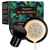 BB Cream, CC Creme, Air Cushion BB Cream, Foundation Liquide, Concealer, Mushroom Head Air Cushion, Correcteur durable maquillage nude hydratant éclaircissant Pigment BB fond de teint liquide