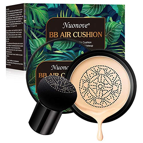 BB Creme CC Creme, Foundation Make up Pilz Luftkissen, Flüssige Grundierung, Feuchtigkeitsspendende Concealer für alle Haut Make-up, Primer Langlebig, Perfekte Abdeckung