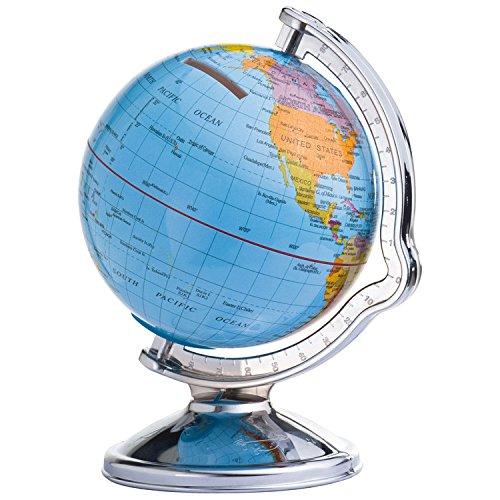 Spardose/Sparbüchse/mit drehbarem Globus