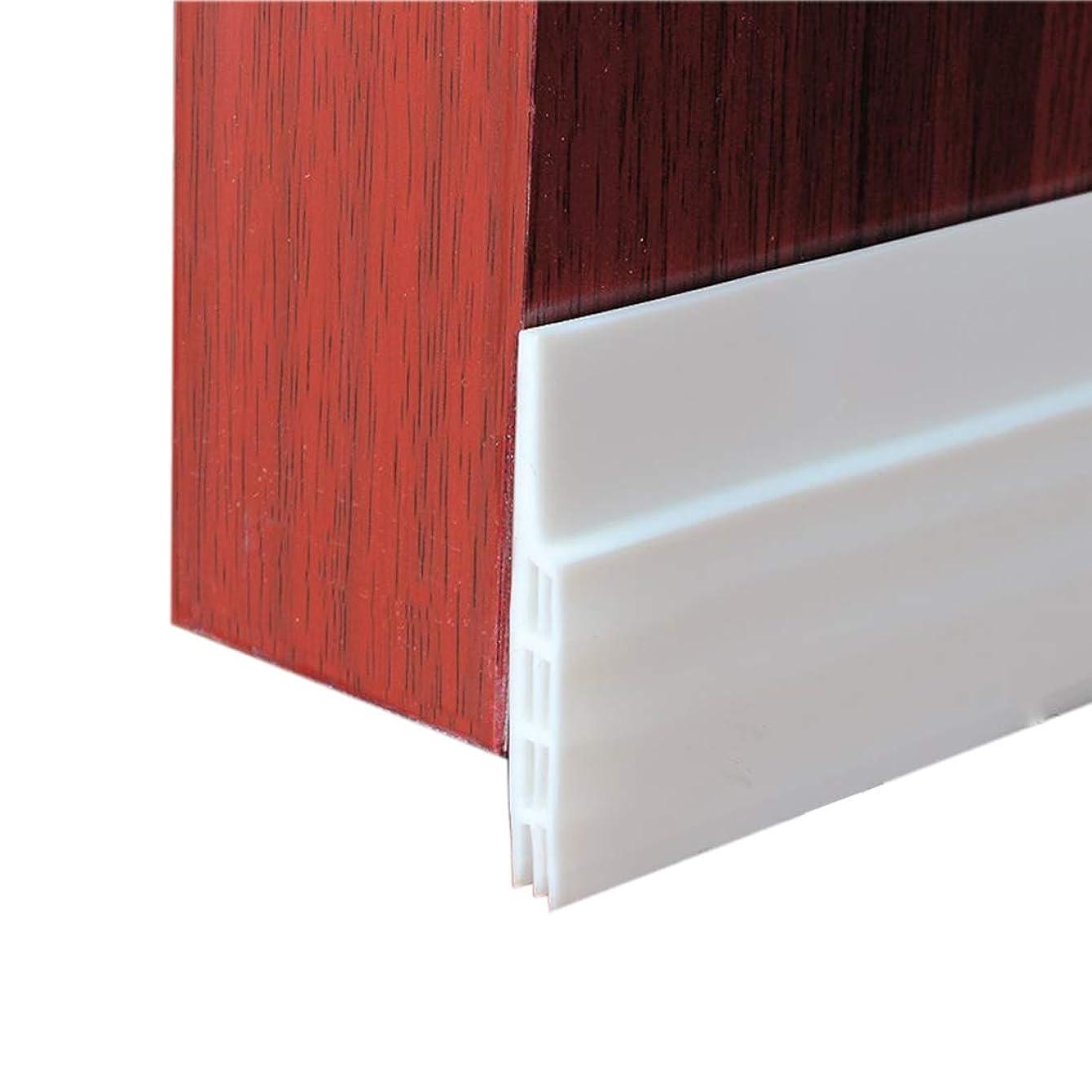 MAZU Door Bottom Seal Strip Energy & Money Saving in Winter Save Air Conditioner Cost Keep Bugs&Noise Off Under Door Sweep Weather Stripping Door Draft Stopper 2