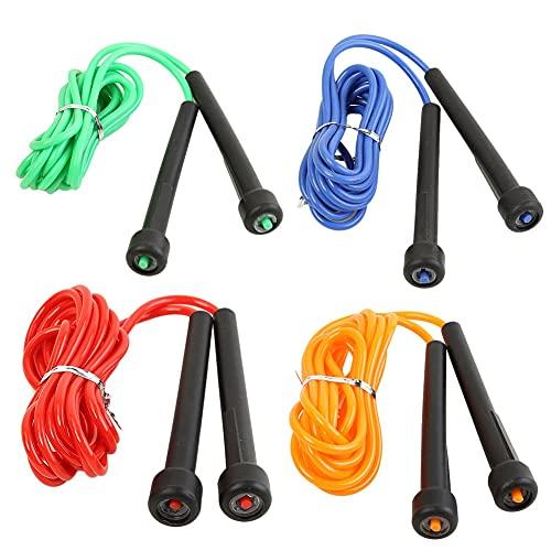 LIUCHEN saltar la cuerdaCuerda de saltar ajustable Entrenamiento deportivo Entrenamiento deportivo Velocidad de fitness Cuerda de saltar de PVC para accesorios de entrenamiento efectivosverde