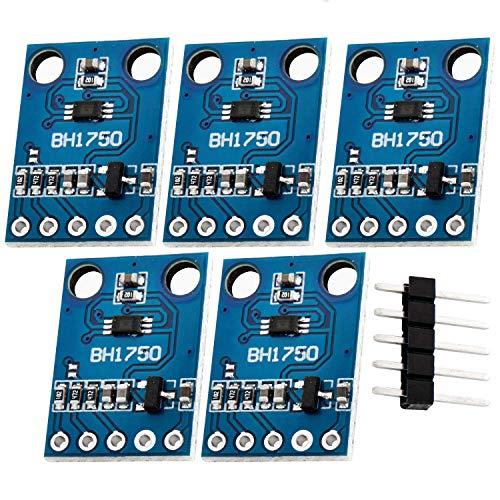 AZDelivery 5 x GY-521 MPU-6050 3-Achsen-Gyroskop und Beschleunigungssensor kompatibel mit Arduino inklusive E-Book!
