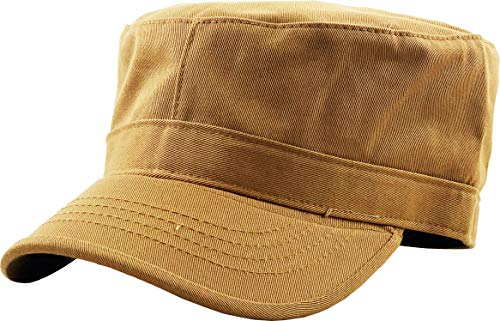 KBK-1464 Tim XL Cadet Army Cap Basic Everyday Military Style Hat