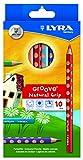 Lyra L3811100 - Astuccio 10 Pastelloni Groove