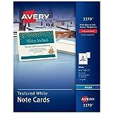 Avery Printable Note Cards, Inkjet Printers,...