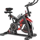 Xb Bicicleta De Ejercicio para Ciclismo Indoor, Bicicleta De Spinning, Sensores De Ritmo...