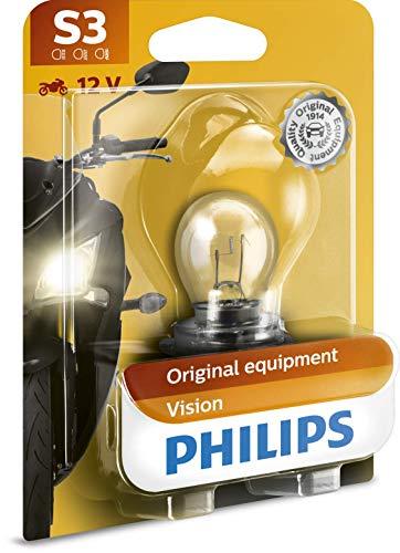 Philips automotive lighting - Luce fanale S3, confezione singola, modelli assortiti