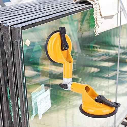 Zuverlässiges verstellbares Glas-Saugwerkzeug, 90 Grad bis 270 Grad Glasbefestigungswerkzeug, bewegliche Fensterfliese für schwere spiegelglatte Granitplatte