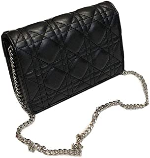 Small Handbags for Women Lingge Laboy Flap Cute Crossbody Bags for Women Cell Phone Purse with Chain -Black Black