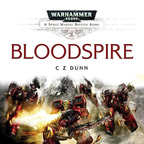 Bloodspire audiobook cover art