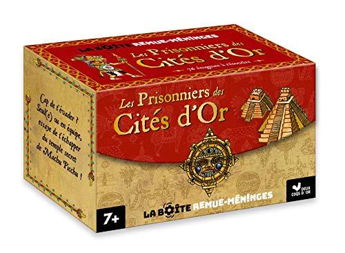 La boite remue-méninges - Les Prisonniers des Cités d'or