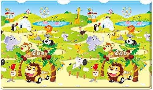 esterilla de juegos para niños - Dwinguler playmat - ZOO - Medium - 1,9m * 1,3m *15mm