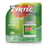 Zyrtec 24 HR Indoor & Outdoor Allergy Liquid Gels Capsules, Cetirizine HCI Antihistamine, 40 ct