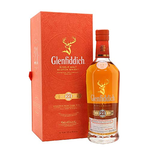 GLENFIDDICH 21anos Reserva Rum Cask Finish - Whisky - 0,7L - ES