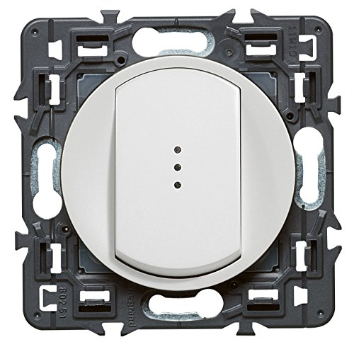 Legrand 099503 Céliane Interrupteur Simple Témoin, 250V, Blanc