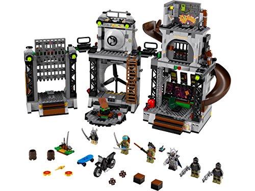 LEGO Ninja Turtles 79117 - Angriff auf das Turtle-Versteck