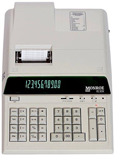 Monroe 12 Digit Professional Heavy Duty Calculator