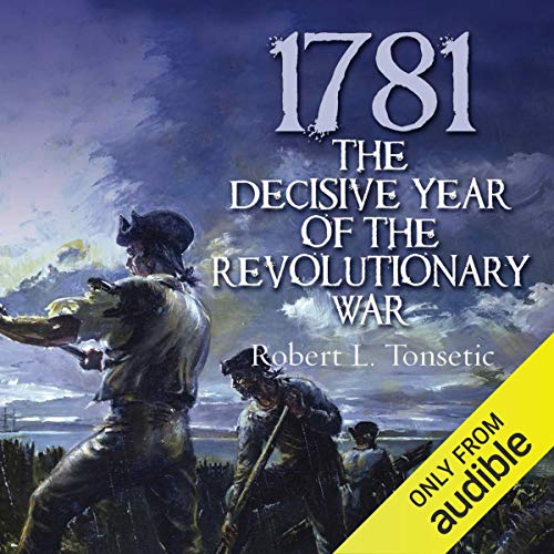 1781 Audiobook By Robert Tonsetic cover art