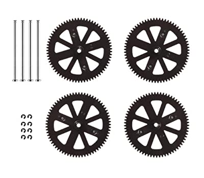 Parrot AR.Drone 2.0 Gears With Shafts and Circlips Set (Pack of 4) by Parrot