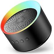 AXLOIE Enceinte Bluetooth Portable TWS Haut-Parleur Bluetooth 5.0 sans Fil, Enceinte Bluetooth Puissante Basse Profonde Stéréo HiFi pour Carte TF/AUX Appels Mains Libres Micro Intégré 10H