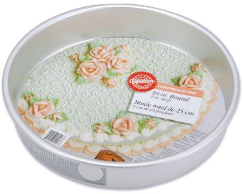 Wilton Performance Aluminum Cake, 10-Inch PERF PAN 10X2 ROUND