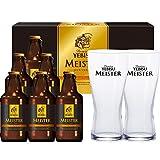 エビスビール マイスター ペアグラス付き 305ml×6本