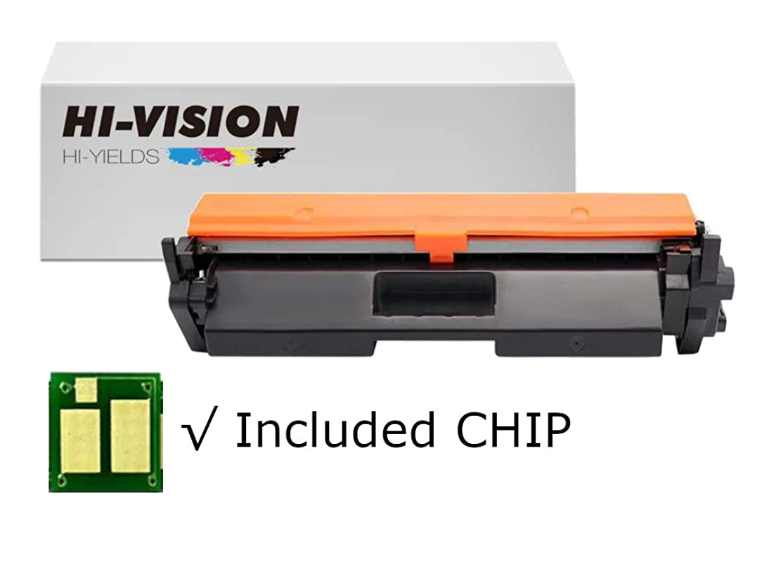 HI-VISION HI-YIELDS Compatible Toner Cartridge CF294A HP 94A [with CHIP] Replacement for HP Laserjet Pro MFP M148dw M148fdw M118dw (1-Pack)