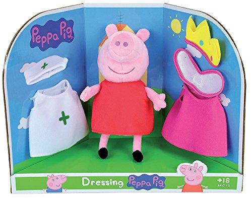 Jemini–Peppa Pig Plüsch zu passgenau +/-20cm, 023093, Rosa