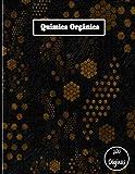 Química Orgánica: cuaderno hexagonal para notas sobre química,...