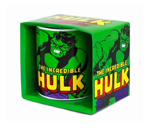 Logoshirt Marvel Comics - Incredible Hulk Porzellan Tasse - Kaffeebecher - grün - Lizenziertes Originaldesign