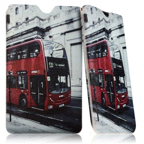 Seluxion Schutzhülle Tasche Universal M Dessin KJ01 für: Archos Diamond Tab 20 cm (7,9 Zoll) 79, 80c, Platinum Xenon