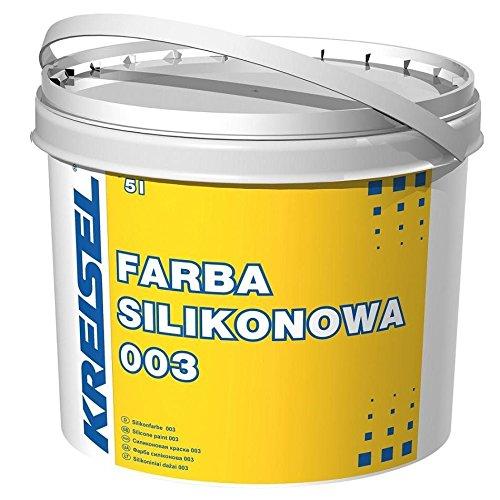 Silikon Fassadenfarbe weiß Kreisel 0035L