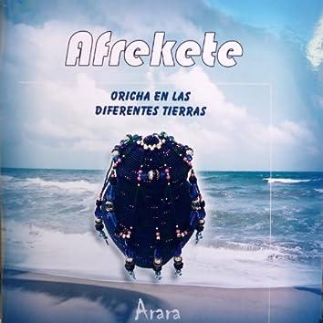 Afrekete (Oricha en las diferentes tierras)