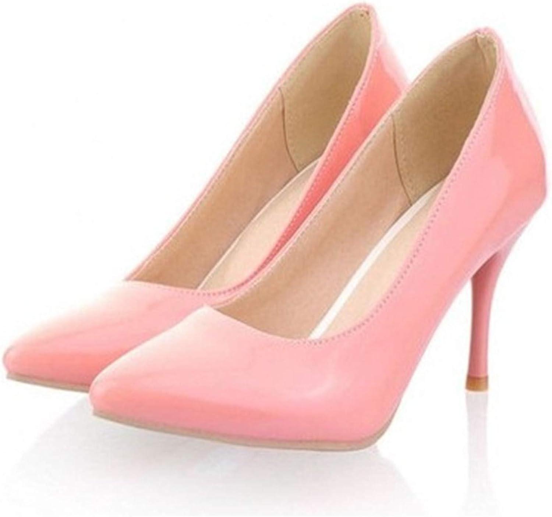 New Ladies Sexy Elegant High Heeled Pointy Toe Pumps Wedding shoes OL Stilettos