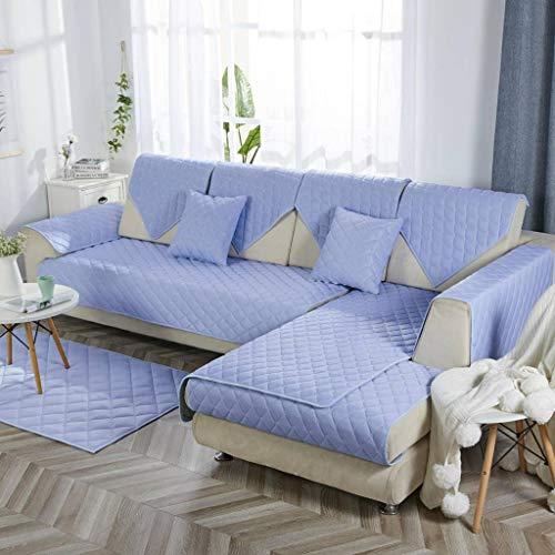 HOCOL antislip lederen bankovertrek, simpel modern ademend mode meerkleurig optionele sofa cover gebruiken voor woonkamer huisdier kinderen