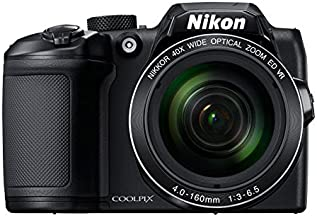 Nikon Coolpix B500 16MP Point and Shoot Digital Camera with 40x Optical Zoom (Black) + HDMI Cable + 16 GB SD Card + Carry ...