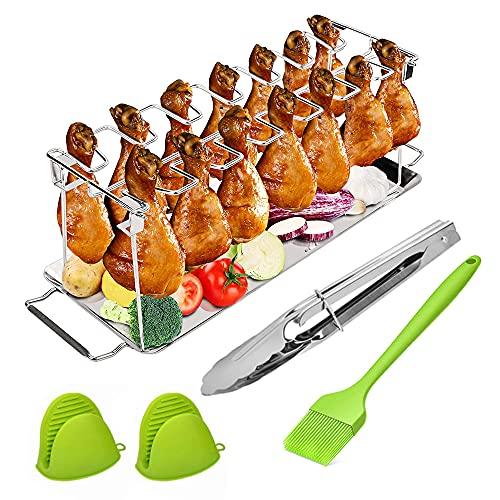 Parrilla de Barbacoa de Muslo de Pollo,Muslos de Pollo a la Barbacoa,Parrilla de Muslos de ,Soporte de Muslos de Pollo,Parrilla de Alitas de Pollo,Soporte para Muslos y Alitas de Pollo