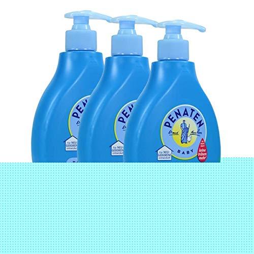 3x Penaten Baby Bad & Shampoo Kopf-bis-Fuß 400ml - keine Tränen mehr