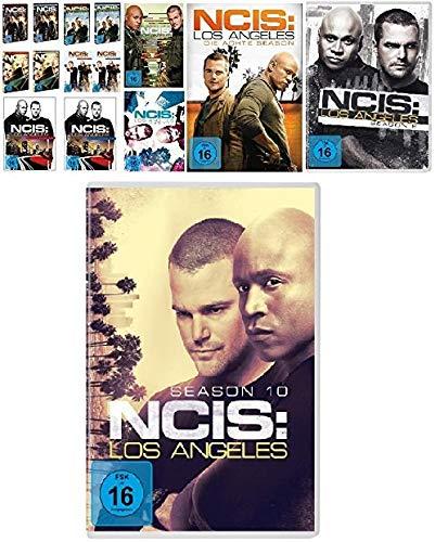 Navy CIS / NCIS: Los Angeles - komplette Season 1-10 (1.1 - 5.2 + 6 + 7 + 8 + 9 + 10) im Set - Deutsche Originalware [60 DVDs]