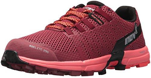 Inov-8 Roclite 290 (W), Zapatillas de Trail Running Mujer, Color Rojo Coral, 36 EU