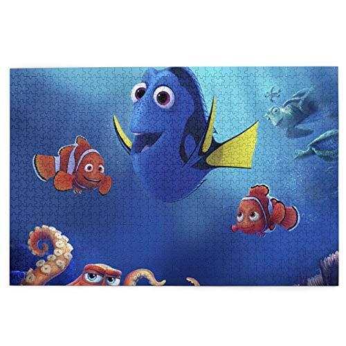 Best-design Puzzles de 1000 piezas para niños Finding Nemo Dibujo Divertido Puzzle para adultos y familias
