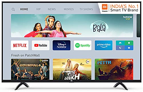 Mi LED TV 4X 138.8 cm (55 Inches) Ultra HD Android TV (Black)