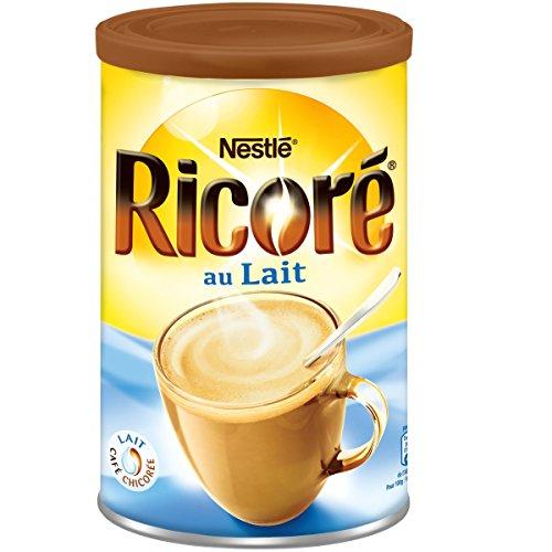 Nestle Ricore au Lait Bonjour Instant Kaffee mit Milch und Extrakten aus Zichorie 400 Gramm
