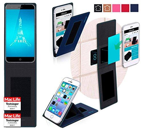 Hülle für Ulefone Paris X Tasche Cover Hülle Bumper | Blau | Testsieger