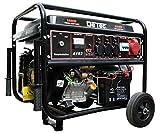 DeTec. Benzin Stromgenerator 6300W Stromerzeuger Starkstrom 230 400V E-Start