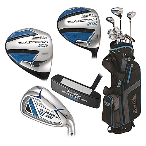 Tour Edge Boys Bazooka 360 Varsity Starter Teen Full Set